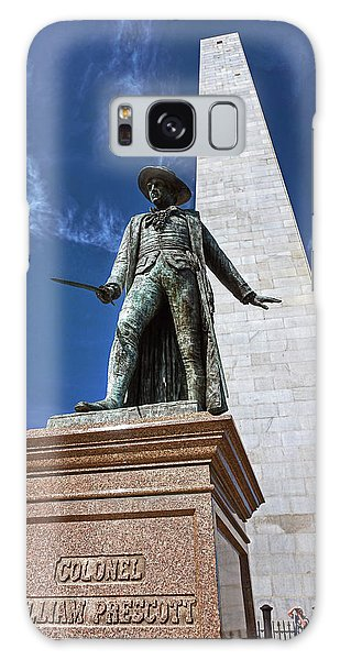 Prescott Statue On Bunker Hill Galaxy Case