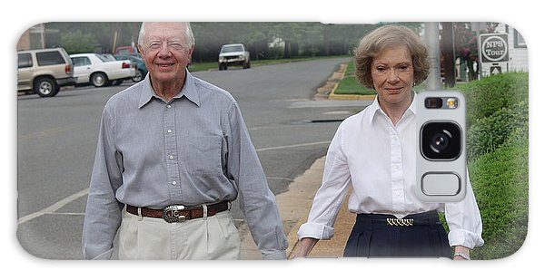 President And Mrs. Jimmy Carter Galaxy Case by Jerry Battle