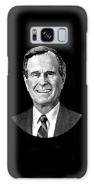 President George H. W. Bush Graphic Galaxy Case by War Is Hell Store