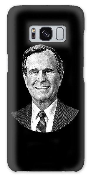 President George H. W. Bush Graphic Galaxy Case