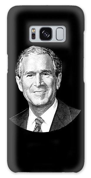 President George W. Bush Graphic Galaxy Case