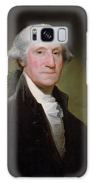 Hero Galaxy Case - President George Washington by War Is Hell Store
