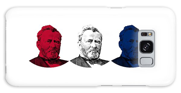Us Civil War Galaxy Case - President Grant Red White And Blue by War Is Hell Store