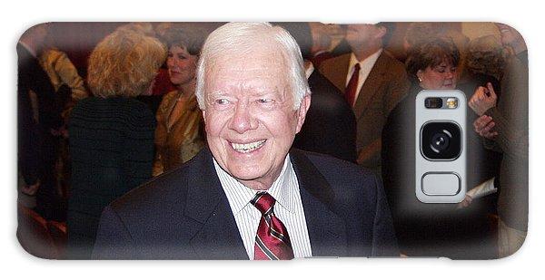 President Jimmy Carter - Nobel Peace Prize Celebration Galaxy Case