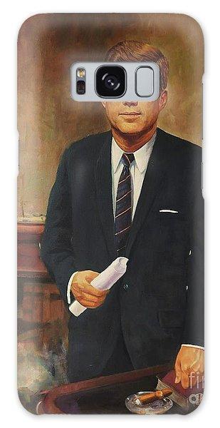 President John F. Kennedy Galaxy Case by Noe Peralez