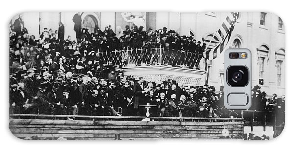 President Lincoln Gives His Second Inaugural Address - March 4 1865 Galaxy Case