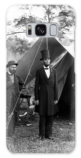 President Lincoln Meets With Generals After Victory At Antietam Galaxy Case by International  Images