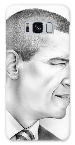 Barack Obama Galaxy Case - President Obama by Greg Joens