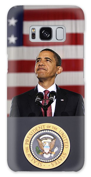 Barack Obama Galaxy Case - President Obama by War Is Hell Store