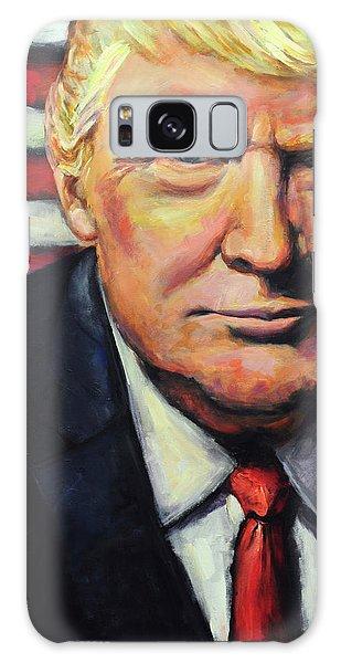 President Trump Galaxy Case by Carole Foret