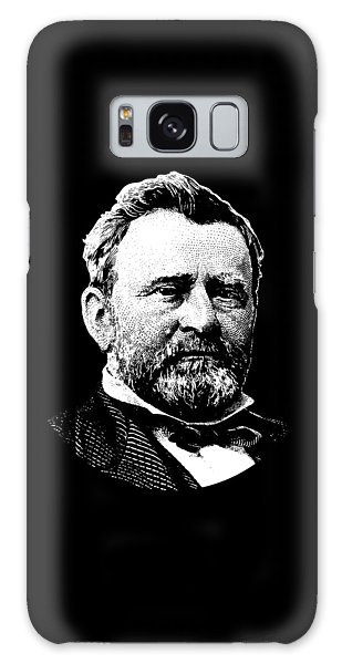 Us Civil War Galaxy Case - President Ulysses Grant Graphic - Black And White by War Is Hell Store