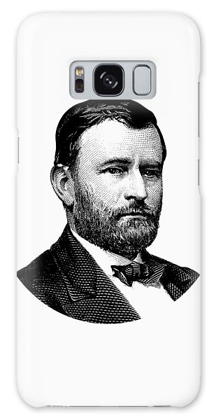 Us Civil War Galaxy Case - President Ulysses S. Grant Graphic White 2 by War Is Hell Store