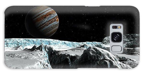 Pressure Ridge On Europa Galaxy Case by David Robinson
