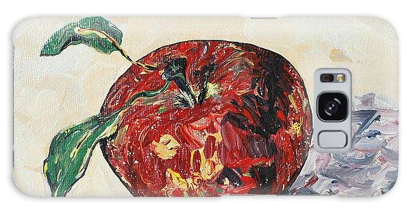 Pretty Apple Galaxy Case by Reina Resto