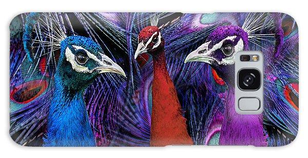 Pretty As A Peacock Galaxy Case