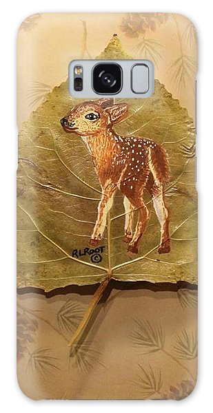 Pretty Baby Deer Galaxy Case