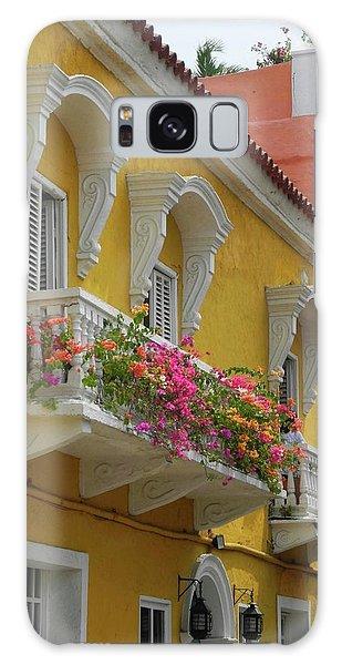 Pretty Dwellings In Old-town Cartagena Galaxy Case