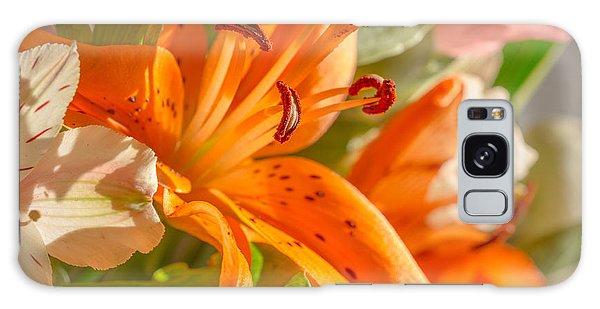 Pretty In Orange Galaxy Case
