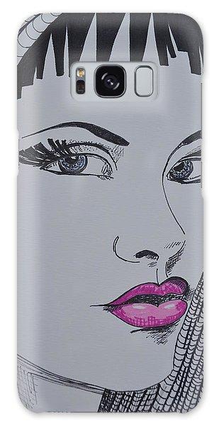 Pretty In Pink Lips Galaxy Case