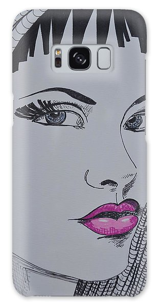 Pretty In Pink Lips Galaxy Case
