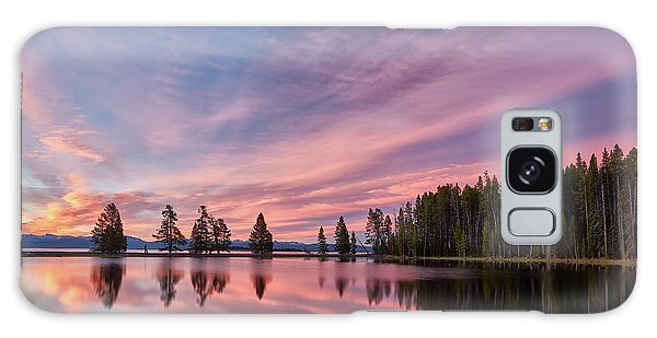 Outdoor Dining Galaxy Case - Pretty Is Pink by Jon Glaser