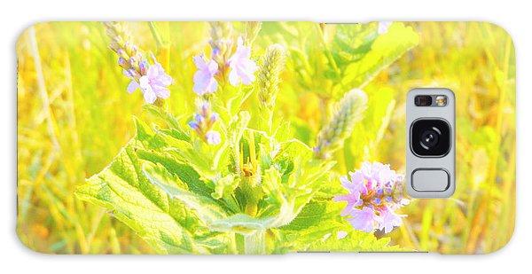 Pretty Lilac Galaxy Case