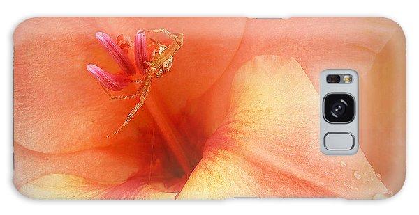 Pretty Orange Petals Galaxy Case by Kathi Mirto