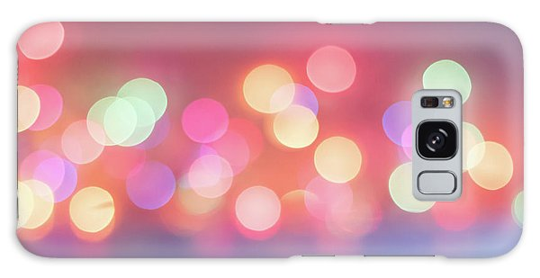 Pretty Pastels Abstract Galaxy Case by Terry DeLuco