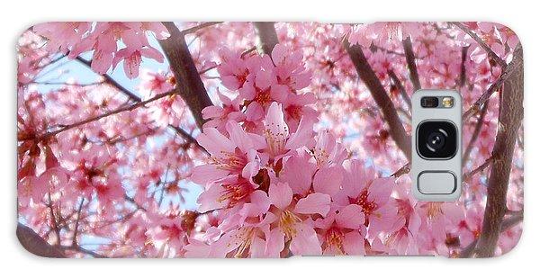 Pretty Pink Cherry Blossom Tree Galaxy Case
