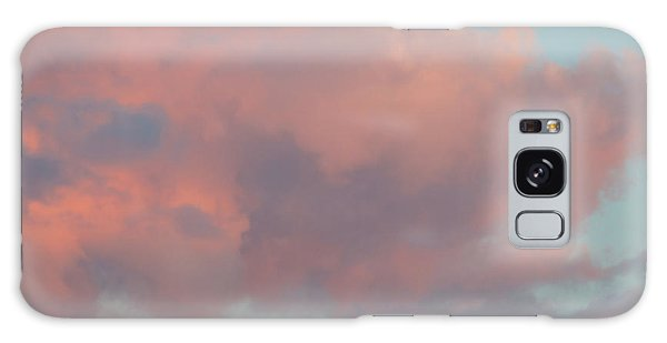 Galaxy Case featuring the photograph Pretty Pink Clouds by Ana V Ramirez