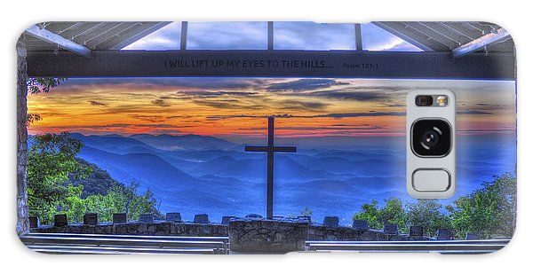 Pretty Place Chapel Sunrise 777  Galaxy Case