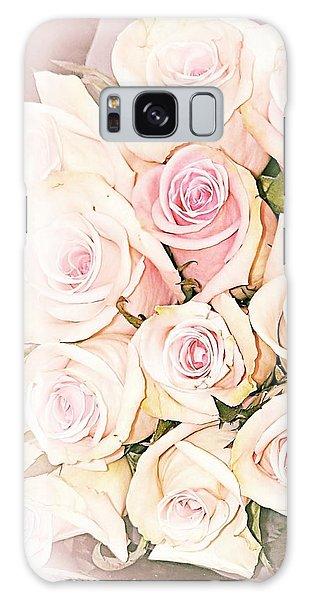 Pretty Roses Galaxy Case