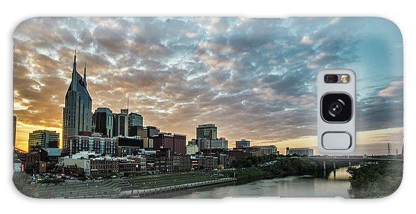 Pretty Sky And Nashville Skyline Galaxy Case
