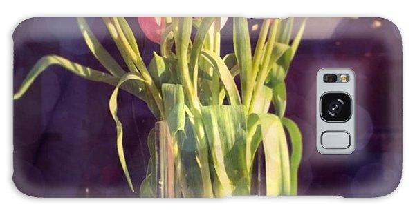 Florals Galaxy Case - Pretty #tulip #flower #arrangement I by Shari Warren
