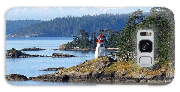 Prevost Island Lighthouse Galaxy Case