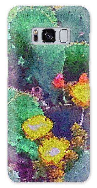 Prickly Pear Cactus 2 Galaxy Case