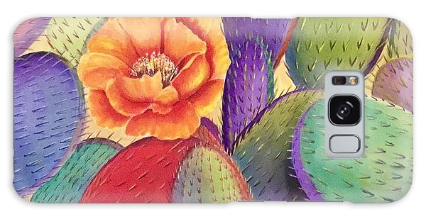 Prickly Rose Garden Galaxy Case