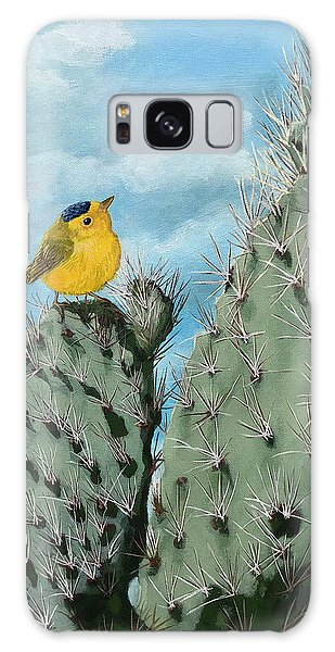Prickly View - Wildlife Painting Galaxy Case