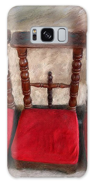Prie Dieu - Prayer Kneeler Galaxy Case