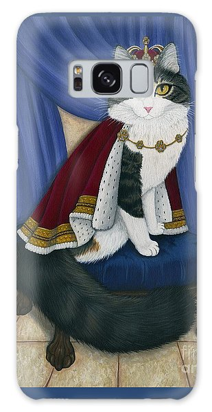 Prince Anakin The Two Legged Cat - Regal Royal Cat Galaxy Case