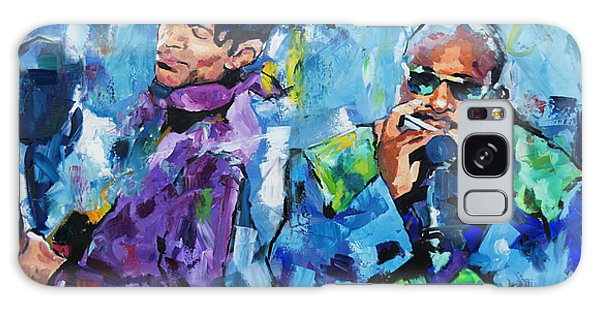 Prince And Stevie Galaxy Case