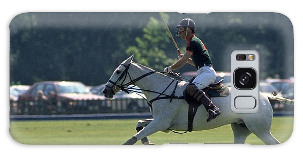 Prince Charles Playing Polo At Windsor Galaxy Case