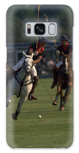 Travelpics Galaxy Case - Prince Charles Playing Polo by Travel Pics