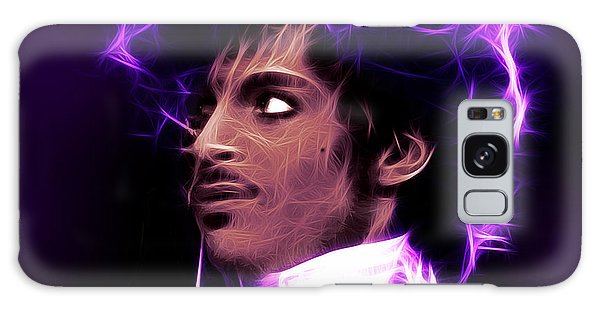 Prince - His Royal Badness Galaxy Case by Stephen Younts