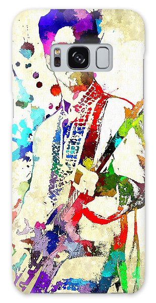 Prince In Concert Galaxy Case by Daniel Janda