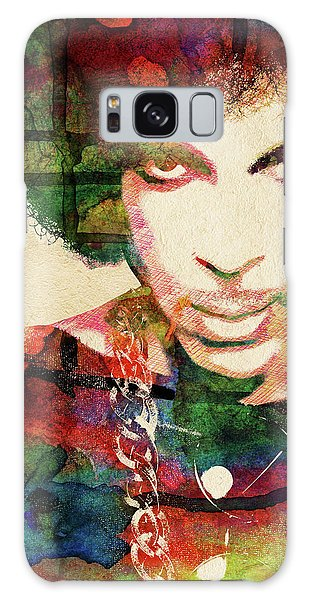 Prince Galaxy Case by Mihaela Pater