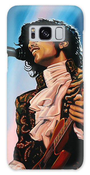 Rhythm And Blues Galaxy S8 Case - Prince Painting by Paul Meijering