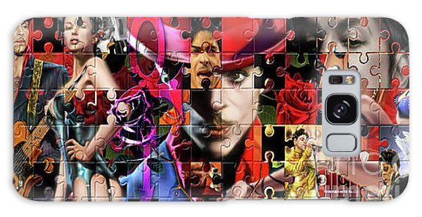 Prince Puzzle Of Missing Pieces 1 Galaxy Case