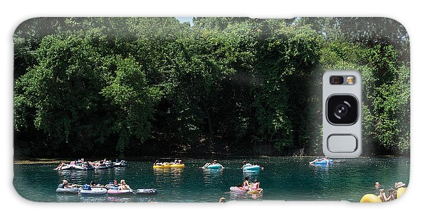 Prince Solms Park On The Comal River In New Braunfels Galaxy Case by Carol M Highsmith