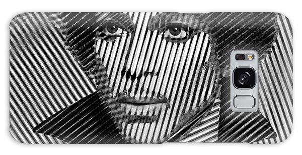 Prince - Tribute In Black And White Sketch Galaxy Case